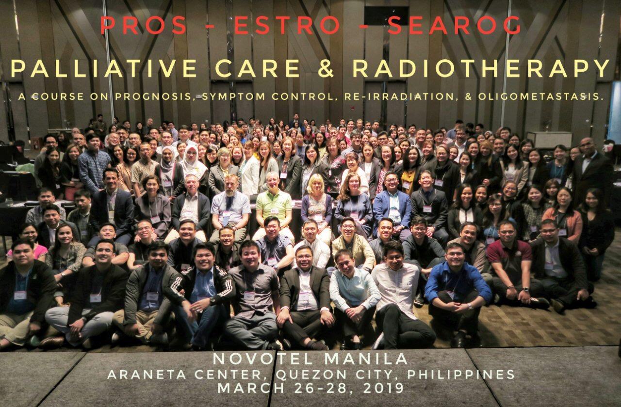 ESTRO Manila 2019: Pallative Care and RadioTherapy